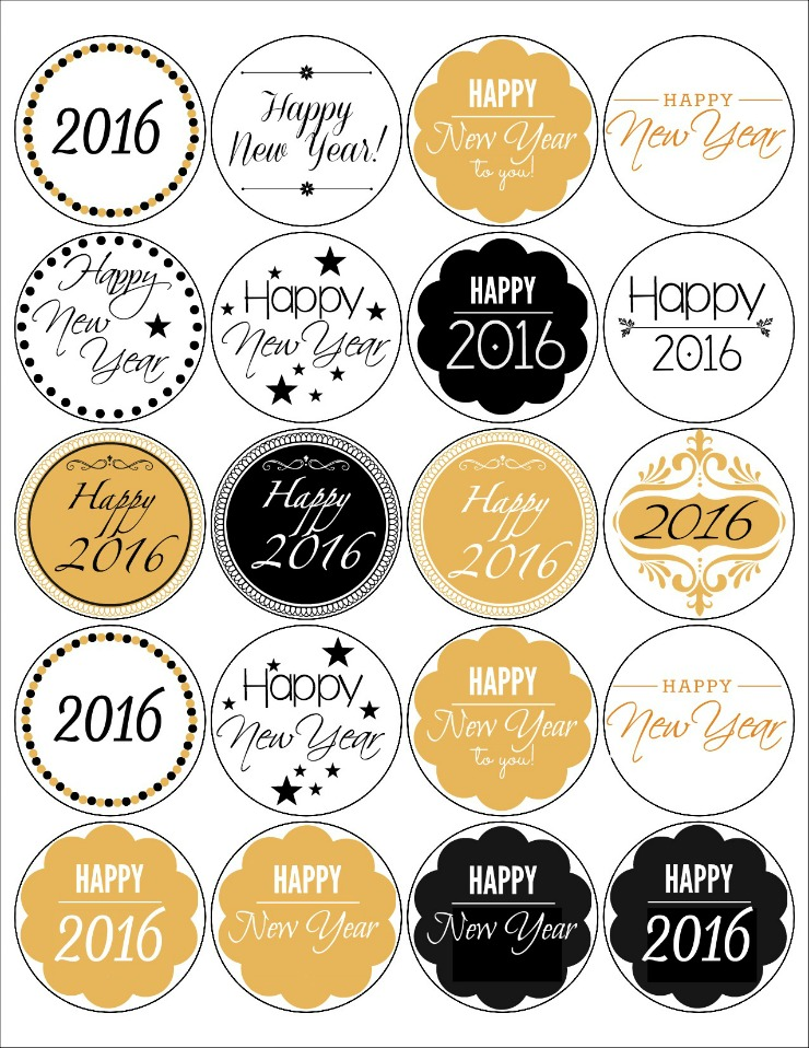 happy birthday labels free printable ; Free-Printable-Happy-New-Year-Labels-The-Bearfoot-Baker