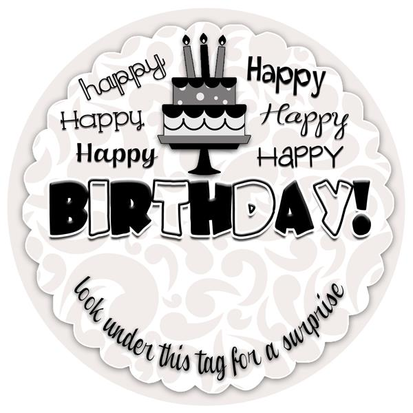 happy birthday labels free printable ; birthday-tag-6