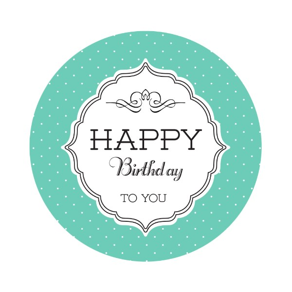happy birthday labels stickers free ; Fancy%2520Happy%2520Birthday%2520Labels%2520Green%2520Circles