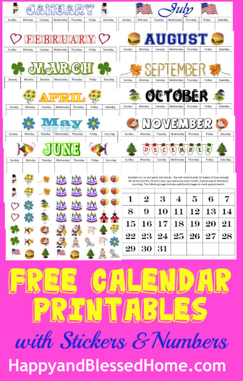 happy birthday labels stickers free ; free-calendar-printables-with-stickers-and-numbers