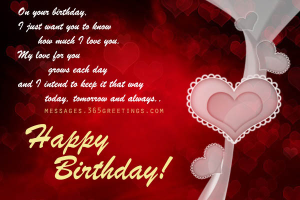 happy birthday love picture messages ; birthday-love-messages