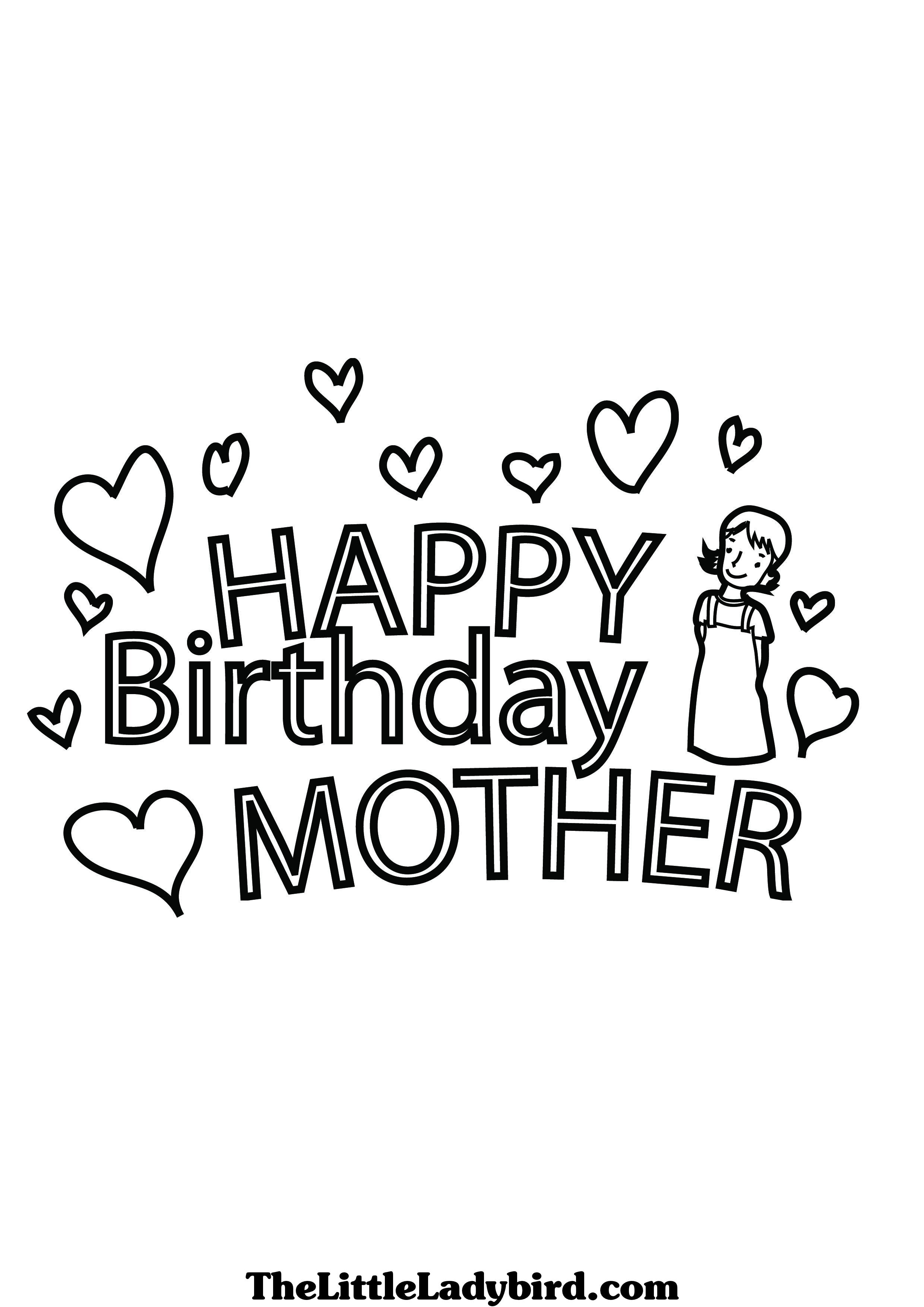 happy birthday mom coloring sheets ; 17-best-images-about-happy-birthday-coloring-pages-on-pinterest-within-mom