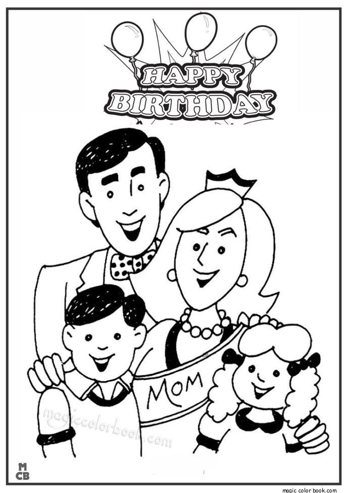happy birthday mom coloring sheets ; Hayyp-Birthday-Mom-coloring-pages