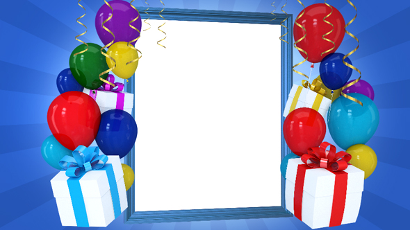 happy birthday picture frame images ; 590