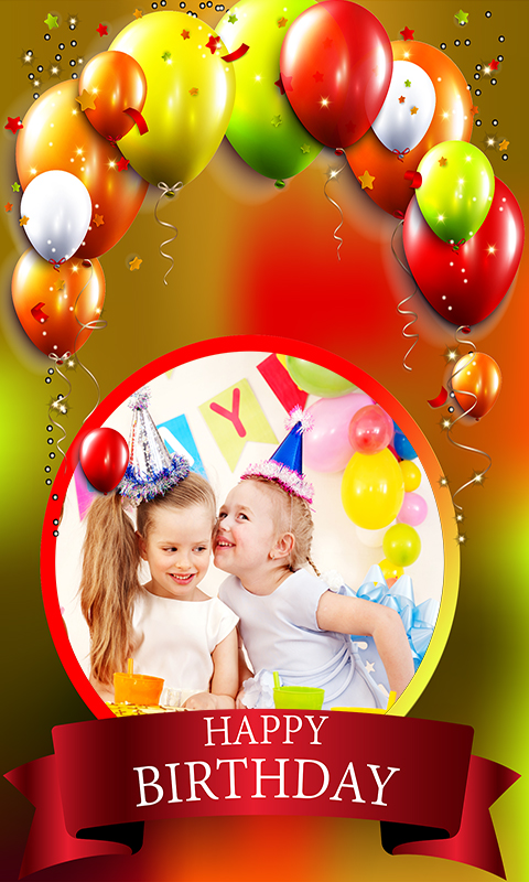 happy birthday picture frame images ; 879312_4