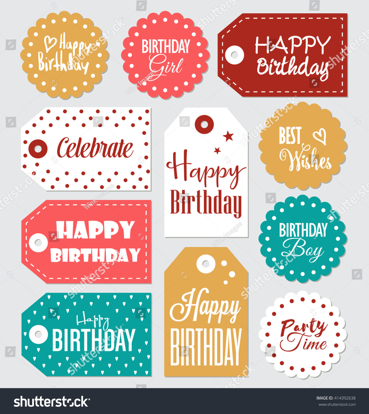 happy birthday printable gift tags ; stock-vector-set-of-birthday-gift-tags-typographic-vector-design-with-illustrations-and-wishes-happy-birthday-414392638