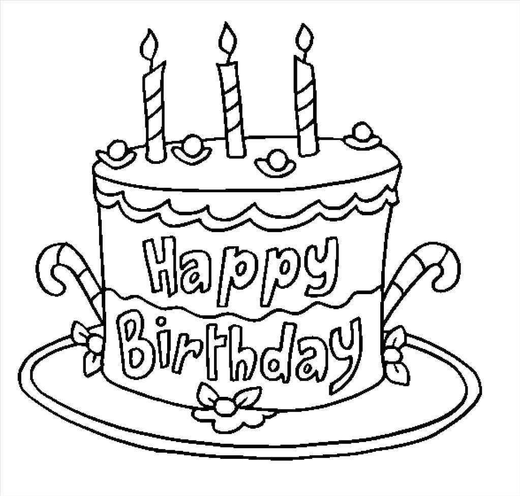 happy birthday sign coloring pages ; Best-free-happy-birthday-coloring-pages-picture
