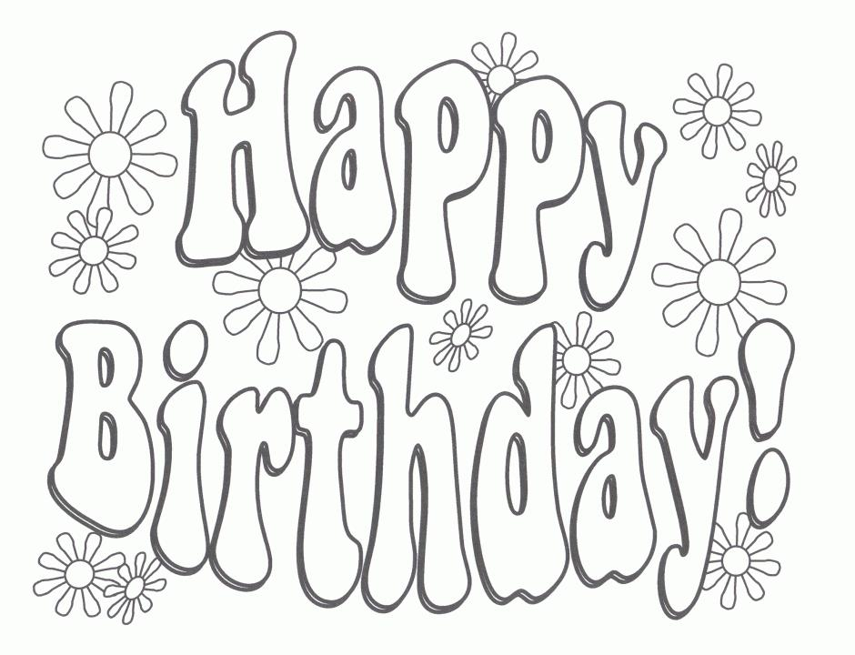 happy birthday sign coloring pages ; fresh-happy-birthday-coloring-pages-47-in-model-5a9c0ee61c908