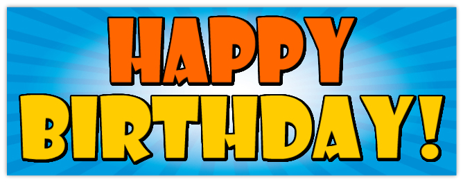 happy birthday sign template ; 4521
