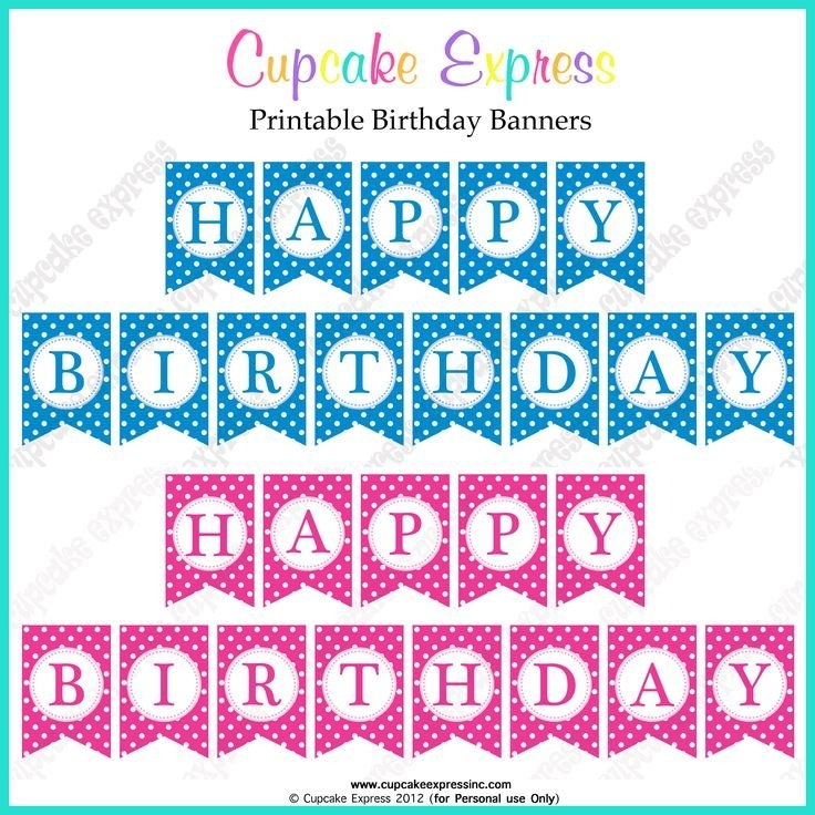 happy birthday sign template ; best-25-printable-birthday-banner-ideas-on-pinterest-free-throughout-free-printable-happy-birthday-banner-templates