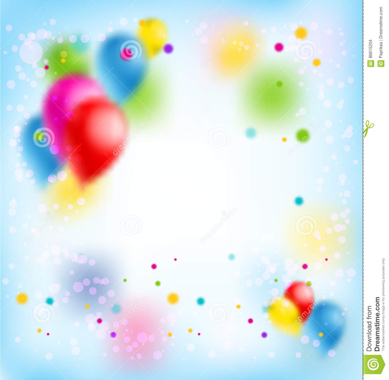 happy birthday sign template ; blur-happy-birthday-banner-holiday-template-design-ticket-leaflet-card-poster-background-balloons-86615204