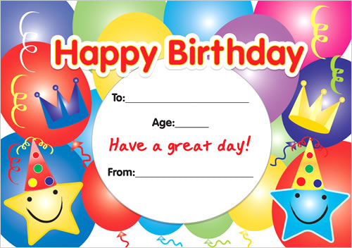 happy birthday sticker template ; happy-birthday-certificates-2311-p
