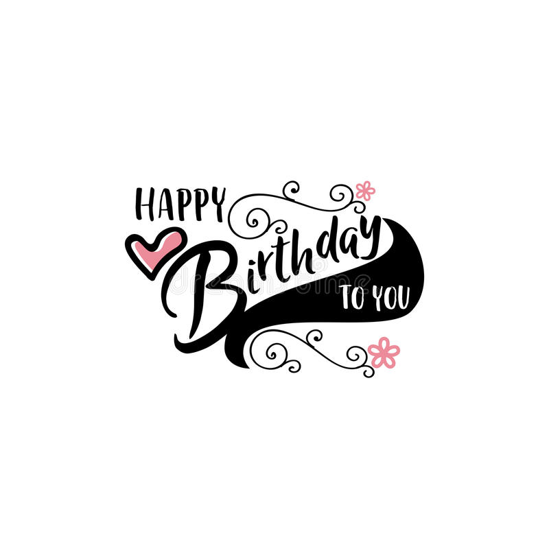 happy birthday sticker template ; lettering-calligraphy-modern-happy-birthday-to-you-sticker-stamp-logo-hand-made-handmade-template-isolated-vector-object-90311516