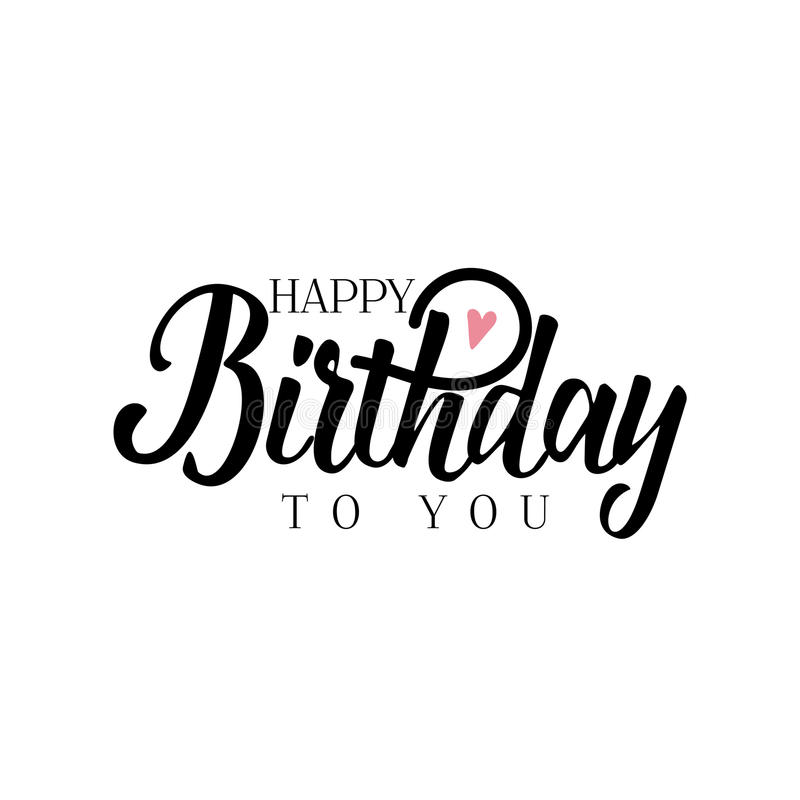 happy birthday sticker template ; lettering-calligraphy-modern-happy-birthday-to-you-sticker-stamp-logo-hand-made-handmade-template-isolated-vector-object-90311727
