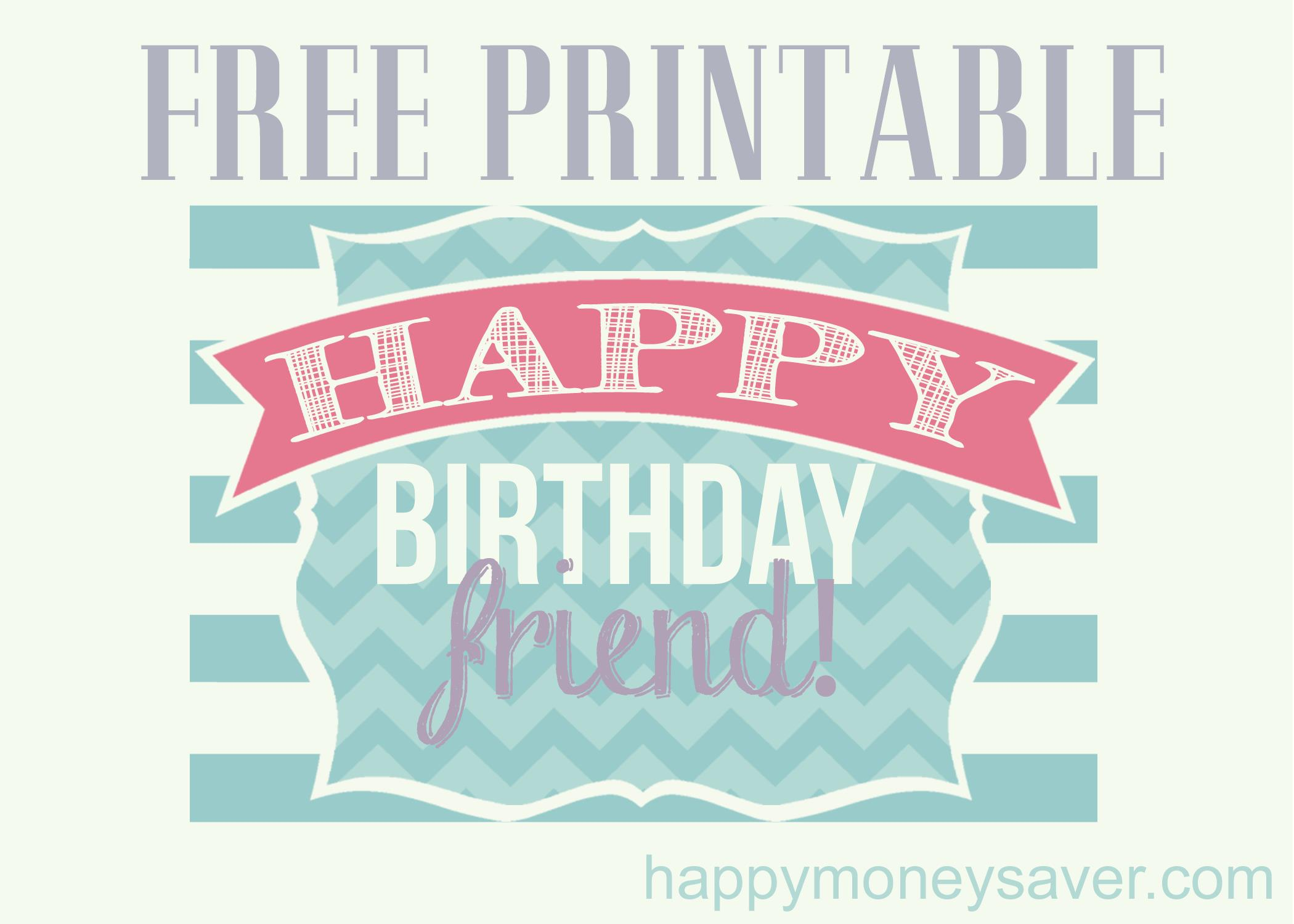 happy birthday stickers printable ; happybirthdayfriend