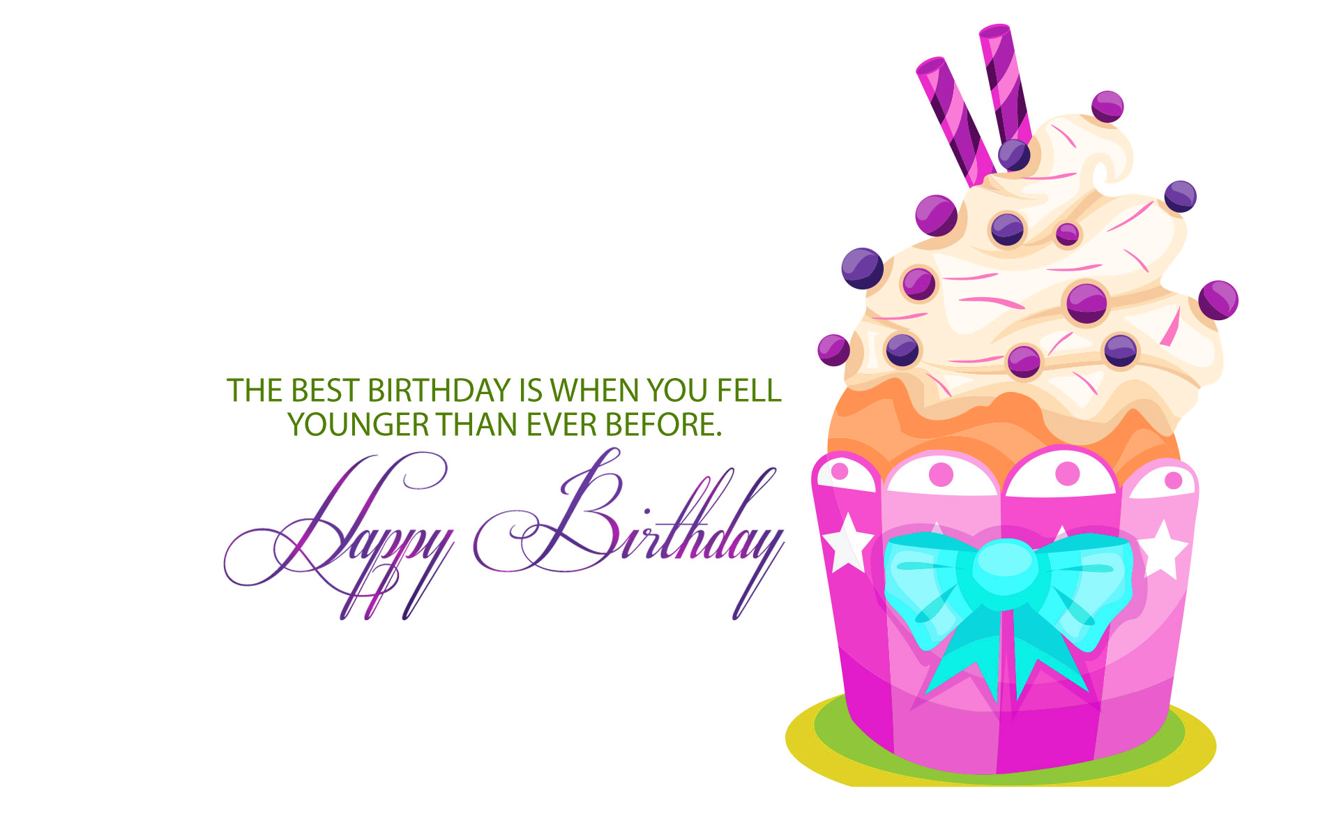 happy birthday wallpaper with quotes ; happy-birthday-cake-and-quotes-wallpaper