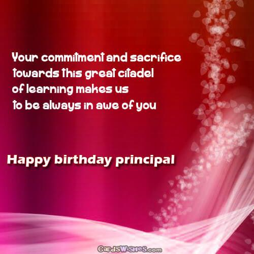 happy birthday wishes and messages ; happy-birthday-dear-principal