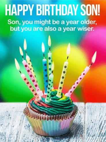 happy birthday wishes card download ; greeting-card-for-son-birthday-older-but-wiser-happy-birthday-wishes-card-for-son-birthday-download