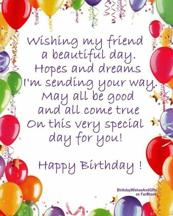 happy birthday wishes card for a friend ; birthday-card-sentiments-for-friend-best-25-birthday-verses-for-friends-ideas-on-pinterest-birthday