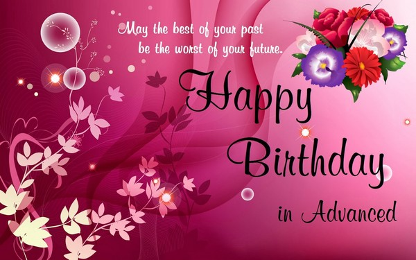 happy birthday wishes card for best friend ; advance-Happy-Birthday-Wishes-For-Best-Friend