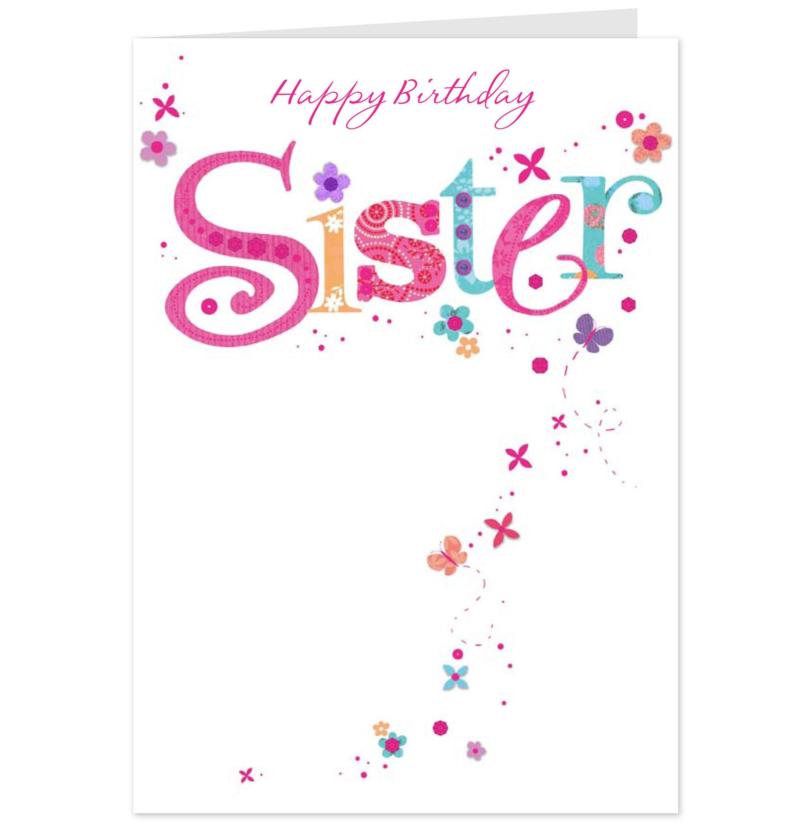 happy birthday wishes card for sister ; Happy-Birthday-Sister-Greeting-Card-For-You-Graphic