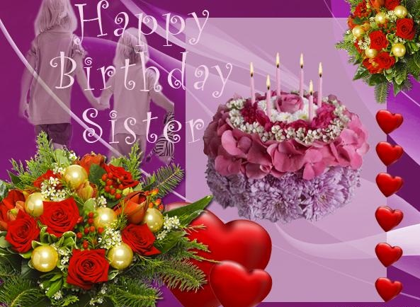 happy birthday wishes card for sister ; Happy-Birthday-Sister-Greeting-Card-Graphic
