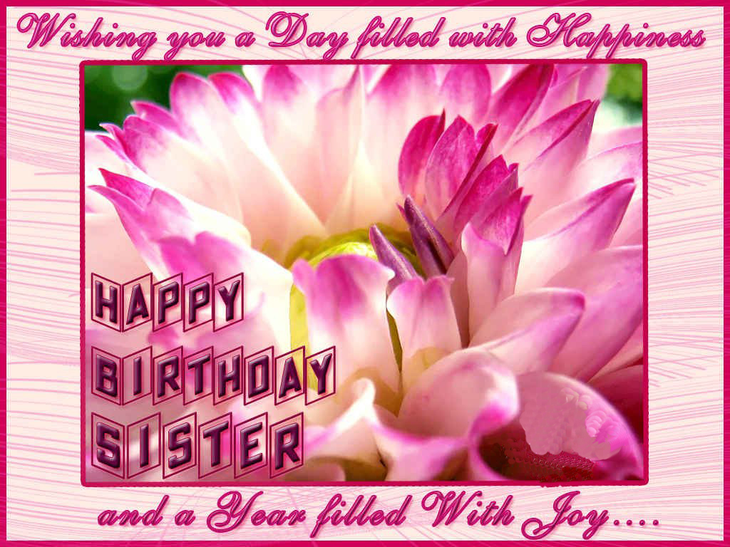 happy birthday wishes card for sister ; sister+happy+birthday+hd+wallpaper+free