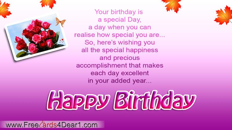 happy birthday wishes greeting cards ; special-birthday-greeting-card