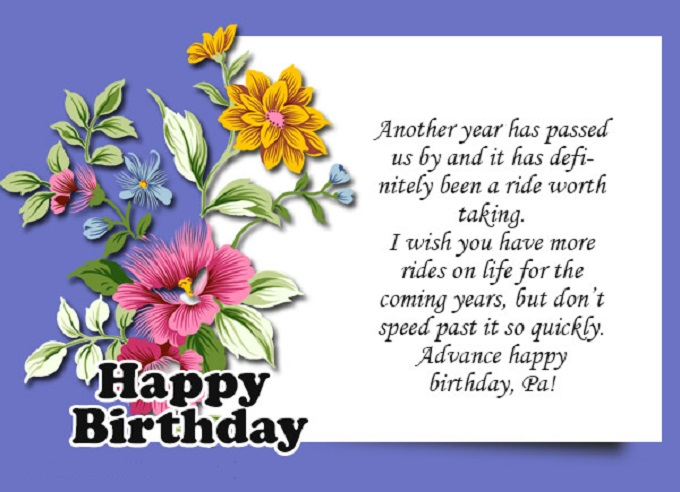 happy birthday wishes message ; advance-birthday-wishes-message-074564