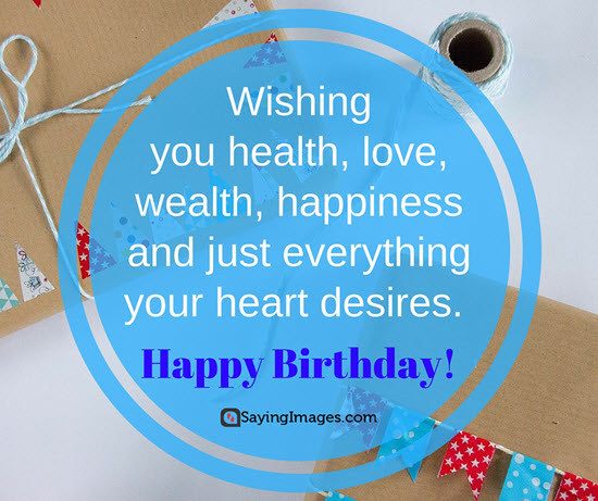happy birthday wishes message ; birthday-quote