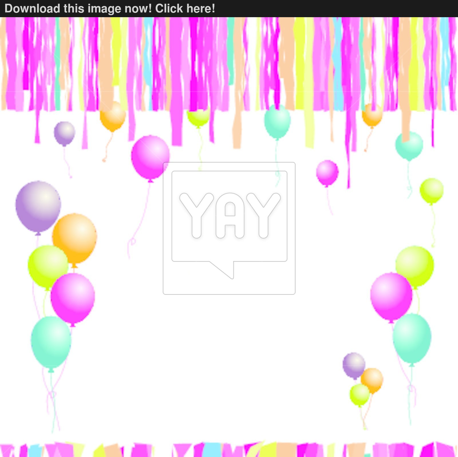happy birthday with photo insert ; happy-birthday-balloons-and-confetti-insert-your-text-here-8373683