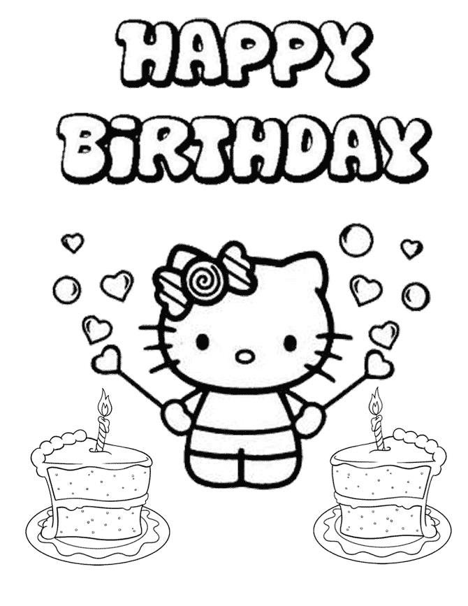 hello kitty birthday coloring sheets ; Beautiful-Hello-Kitty-Birthday-Coloring-Pages-29-About-Remodel-Kids-Coloring-Pages-with-Hello-Kitty-Birthday-Coloring-Pages