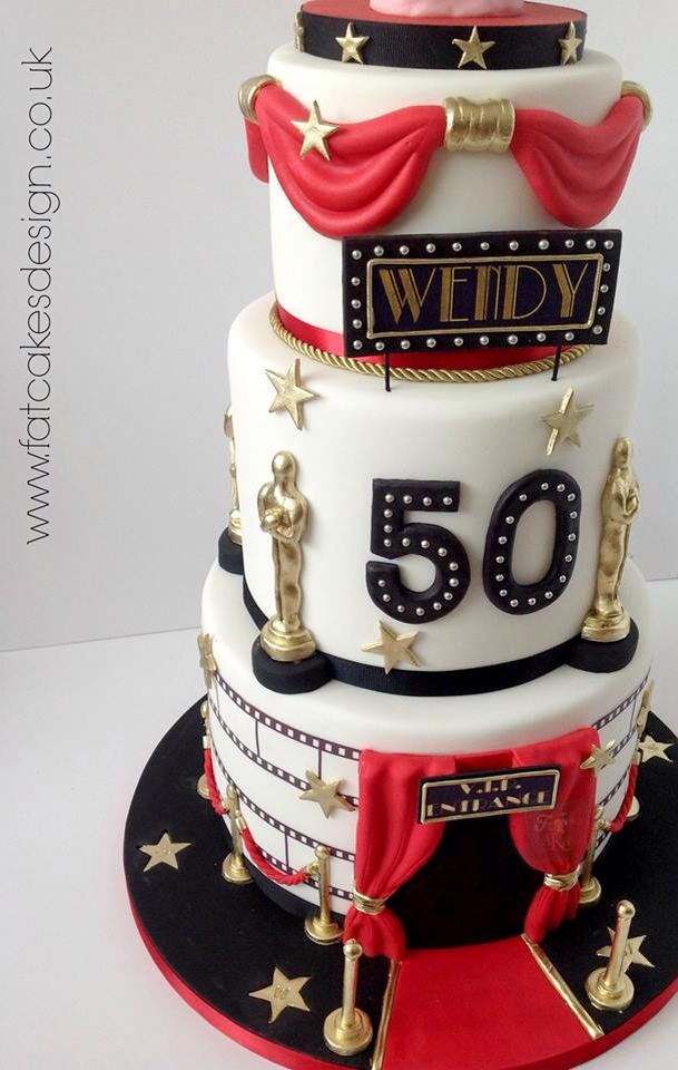 hollywood themed birthday cake design ; 9eee224149b94a18e0651048406bd5d4