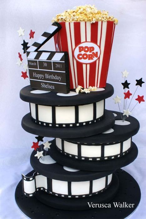 hollywood themed birthday cake design ; best-25-cool-cake-designs-ideas-on-pinterest-cake-designs-cool-cool-cake-designs-with-icing