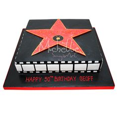 hollywood themed birthday cake design ; c1fd112a589cedcf3a0cd88be9c9b72b--movie-theme-cake-movie-party