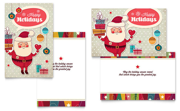 indesign birthday card template ; XX1241201-S