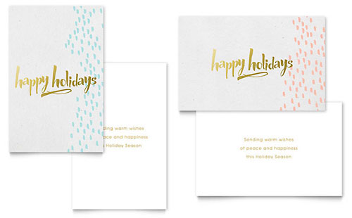 indesign birthday card template ; XX1701201-F