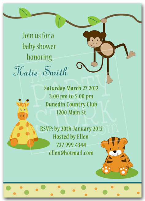 jungle theme birthday invitations free printable ; jungle-theme-baby-shower-invitation-wording-as-nice-looking-Baby-Shower-invitation-template-designs-for-you-27920164