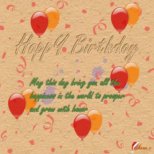 kid birthday greeting card messages ; 304471