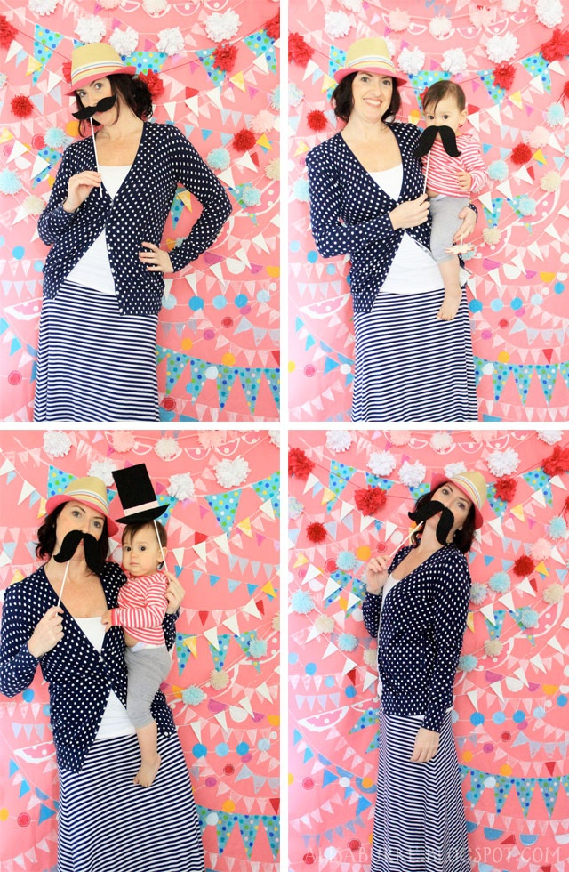 kids birthday party photo booth ; babybooth