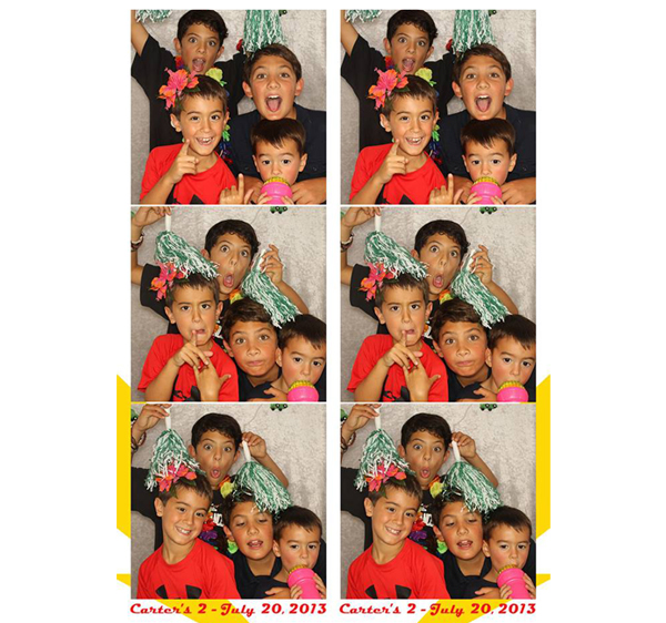 kids birthday party photo booth ; carter23
