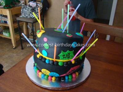 laser tag birthday cake designs ; coolest-laser-tag-birthday-cake-3-21528842