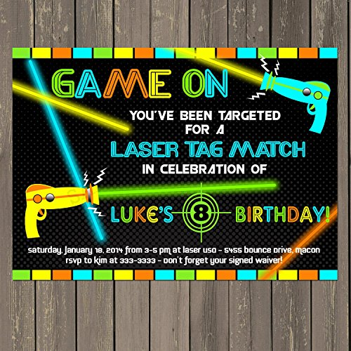 laser tag birthday invitation ideas ; 9130AsonYJL
