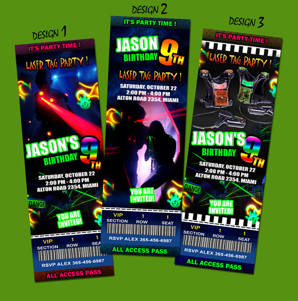 laser tag birthday invitation ideas ; laser_tic_presentation1