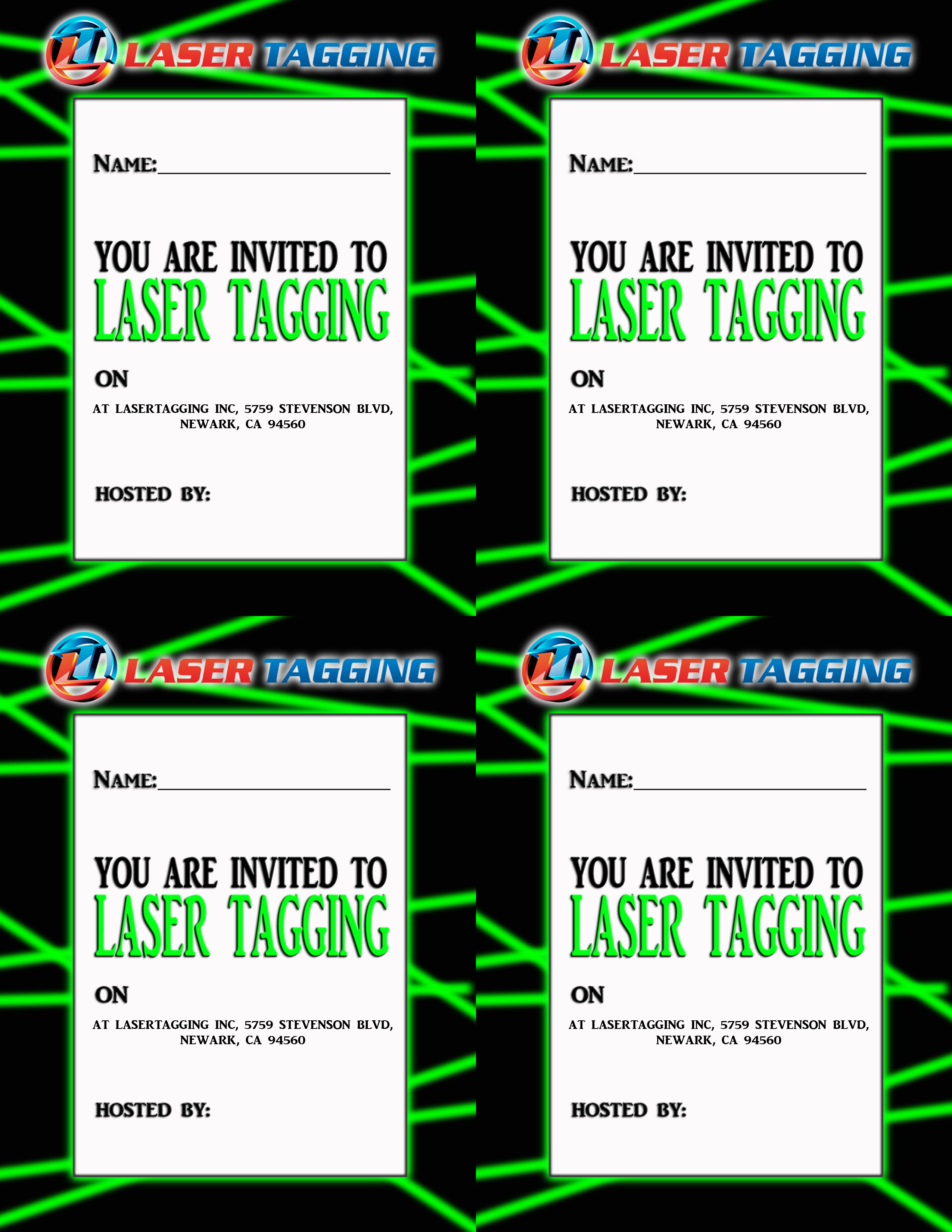 laser tag birthday invitations free printable ; 89afef530e9af78cba45fa27959fde76