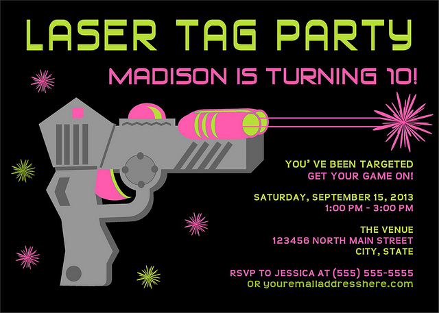 laser tag birthday invitations free printable ; excellent-laser-tag-party-invitation-blank-looks-newest-birthday