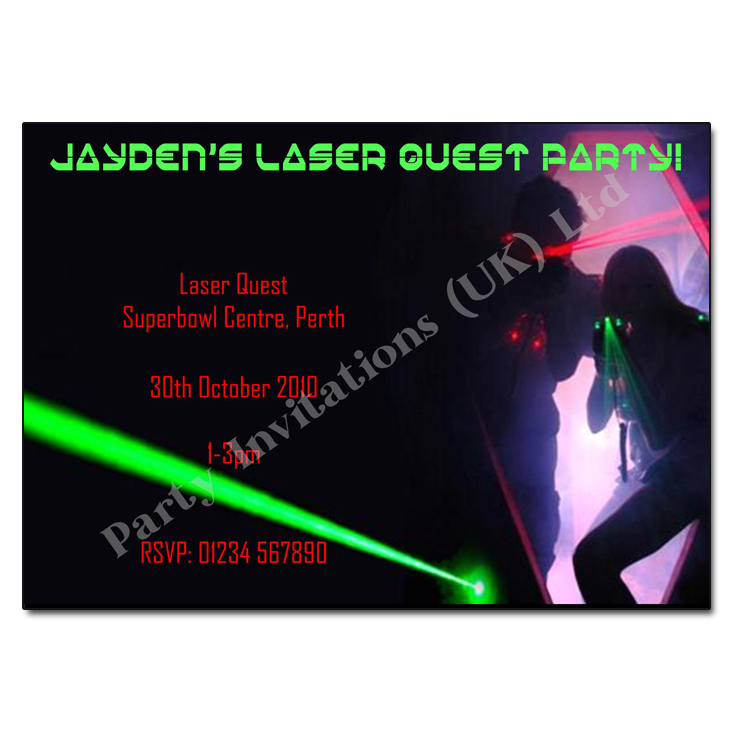 laser tag birthday invitations free printable ; laser-quest-party-invitations-laser-party-invitation-personalised-party-invites
