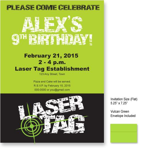 laser tag birthday invitations free printable ; laser-tag-invitations-templates-9-best-images-of-laser-tag-invitations-free-printable-laser-tag