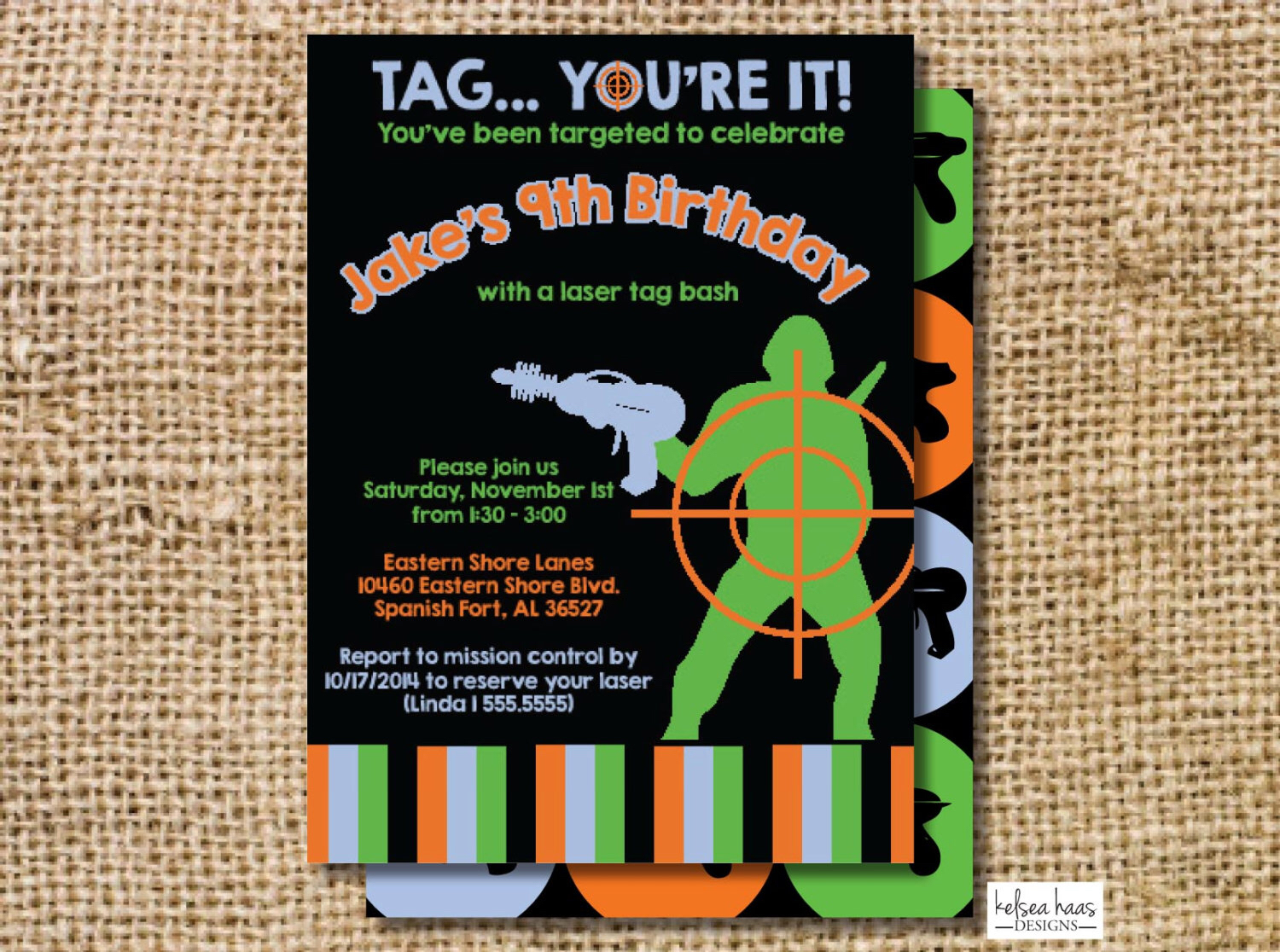 laser tag birthday party invitation template ; 2245a561b8f020ea5310863e0cb0027b