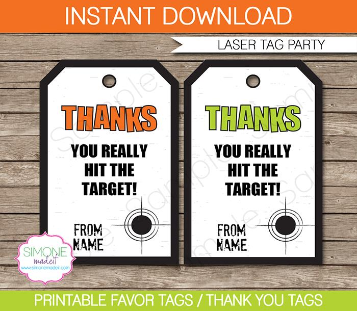 laser tag birthday party invitation template ; Laser-Tag-Green-Orange-800x696